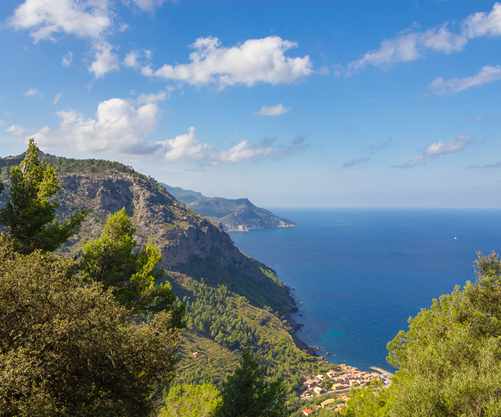 The Serra de Tramuntana, is declared a world heritage in the category of cultural landscapes by UNESCO.